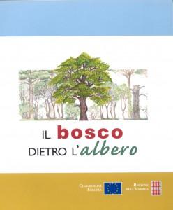 Bosco dietro Albero